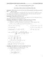 lý thuyết và bài tập phần hình học giải tích trong không gian
