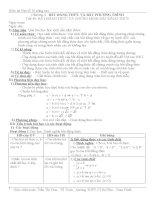 GA Đại số 10-Chương IV- NC