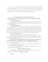 QUY CHUẨN KỸ THUẬT QUỐC GIA VỀ KHÍ THẢI CÔNG NGHIỆP SẢN XUẤT PHÂN BÓN HÓA HỌC pot