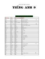 Bài tập Tiếng anh 9 cả năm (Ôn thi HK và lên lớp 10)