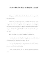 DOD (Do Or Die) vì Brain Attack potx