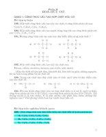 245 bài tập hóa học chọn lọc THCS có PP giải (phần 3)