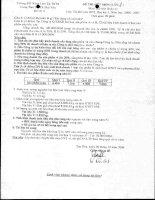 Đề thi Kế Toán quản trị số 4 pps