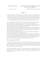 THÔNG TƯ 01/2011/TT-BCT pot