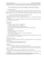 Chương 4: Xây dựng mặt đường đá dăm nước doc