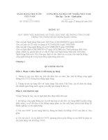 THÔNG TƯ 01/2011/TT-NHNN doc
