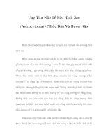 Ung Thư Não Tế Bào Hình Sao (Astrocytoma) - Nhức Đầu Và Bướu Não pdf
