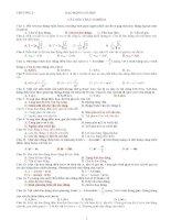 Trắc nghiệm vật lý 12 - Dao động cơ học ppsx