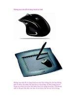 Những mẹo nhỏ để sử dụng chuột an toàn pptx