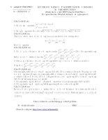 Đề thi học sinh giỏi lớp 10 THPT năm 2010 - 2011 môn toán trường THPT chuyên Vĩnh Phúc potx