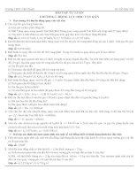 Bài tập tự luận chương1 nâng cao