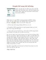 cách chuyển đổi từ PDF sang Wuod