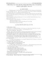 Chương 6: Xây dựng mặt đường gia cố bằng chất liên kết vô cơ pptx