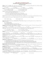 Kiểm tra chương 1, 2, 3 Lý 12 hay