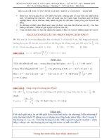 Hai cách giải câu 18 mã đề 485 đại hoc 2010 môn vật lý