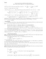 Bài tập dao động điện từ