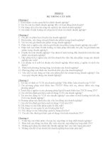 Hệ thống câu hỏi môn tài chính doanh nghiệp ppt