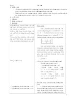 Giáo án Vật lý 11 : Học kỳ I part 2 ppsx