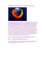 Đăng nhập nhiều tài khoản Gmail cùng một lúc trong Firefox pdf