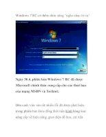"""Windows 7 RC có thêm chức năng """"nghe nhạc từ xa"""" pot"""
