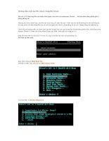 Hướng dẫn tạo & bung file Ghost Win XP P2