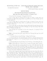 Quyết định 16/2006/QĐ-BGD&ĐT ban hành chương trình giáo dục poổ thông