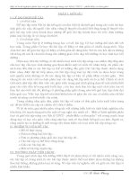 MỘT SỐ KINH NGHIỆM PHÂN LOẠI VÀ  GIẢI BÀI  TẬP  NÂNG CAO VẬT LÝ THCS PHẦN  MÁY CƠ ĐƠN GIẢN