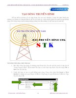 Tạo sóng truyền hình part1 pdf