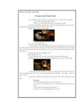 Bài 60:Sự nuôi và dạy con của một số loài thú