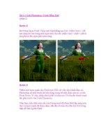 Xử Lý Ảnh Photoshop: Cánh Đồng Quê (phần 2) pot