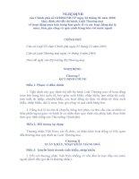 Nghị định 12 hướng dẫn Luật Thương Mại 2005 ppt