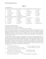 11cb- Practice test of unit 14 - 2