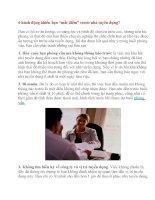 """6 hành động khiến bạn """"mất điểm"""" trước nhà tuyên dụng pdf"""