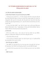 Bài giảng tim mạch - XỬ TRÍ BIẾN CHỨNG MUỘN CỦA NHỒI MÁU CƠ TIM pdf