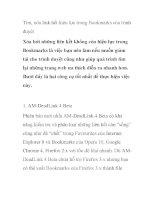 Tìm, xóa link hết hiệu lực trong Bookmarks của trình duyệt pps