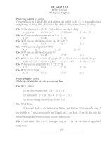 đề kiểm tra môn toán lớp 6 ( hay )