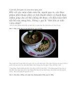 cách nấu các món cháo ngon giải nhiệt mùa hè