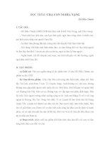 CHA CON NGHĨA NẶNG Hồ Biểu Chánh