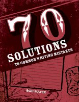 70 Solutions to common writing mistakes docx