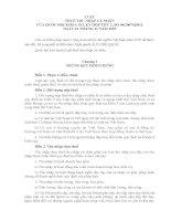 LUẬT THUẾ THU NHẬP CÁ NHÂN CỦA QUỐC HỘI KHÓA XII, KỲ HỌP THỨ 2 potx