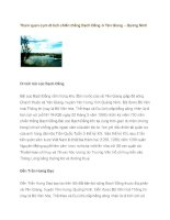 Cụm di tích chiến thắng Bạch Đằng ở Yên Giang – Quảng Ninh part 1 ppsx
