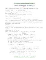 23 đề thi học sinh giỏi toán lớp 8 có đáp án