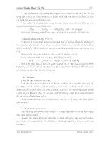Slide Giáo Trình Công Nghệ Hóa Vô Cơ phần 7 pdf