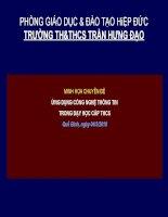 Bài 24. Tiếng Việt: Chuyển đổi câu chủ động thành câu bị động (tt)