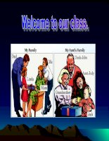 a9 language welcome our class (cuc hay)