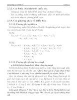 [Điện Tử] Hệ Thống Đếm Cơ Số, Đại Số Boole phần 3 pptx