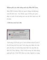 Khám phá các tính năng mới của Mac OS Lion pdf
