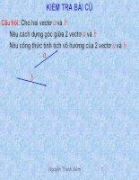 Bai 2.Hai đường thẳng vuông góc(Cuc Hay)