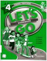 oxford - lets go 4 workbook 3rd edition