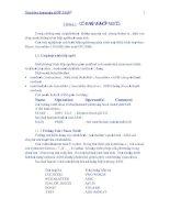 [Ngôn Ngữ Máy] Đề Cương Bài Giảng Hợp Ngữ (assembly language) phần 1 ppsx